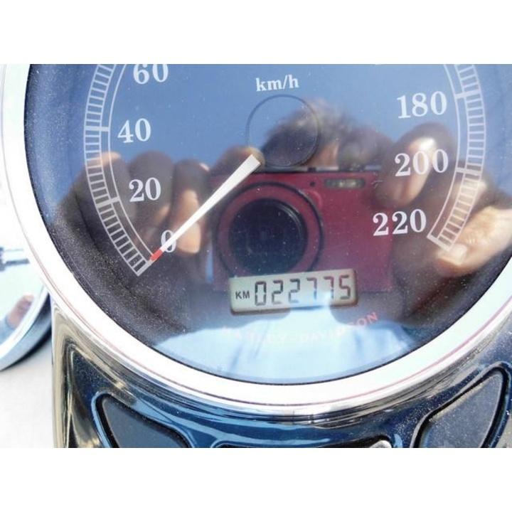 ♪徳島発♪ ハーレーFLSTSB クロスボーン グレー 2009年式 平成30年10月まで車検付き