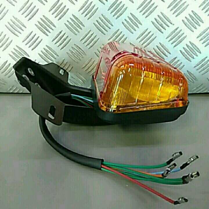 CBX風ウインカー一体型テールランプ