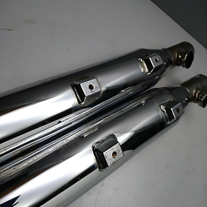 XL1200 XL883 スポーツスター 純正オプション サイレンサー 2001-2013