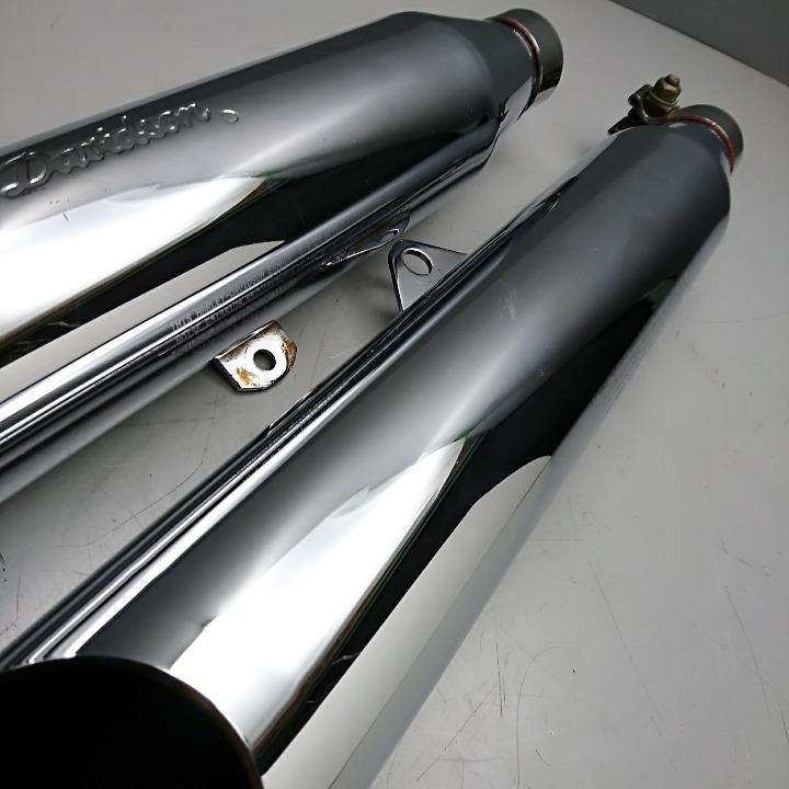 XL1200 XL883 スポーツスター 純正オプション サイレンサー 1997-2000
