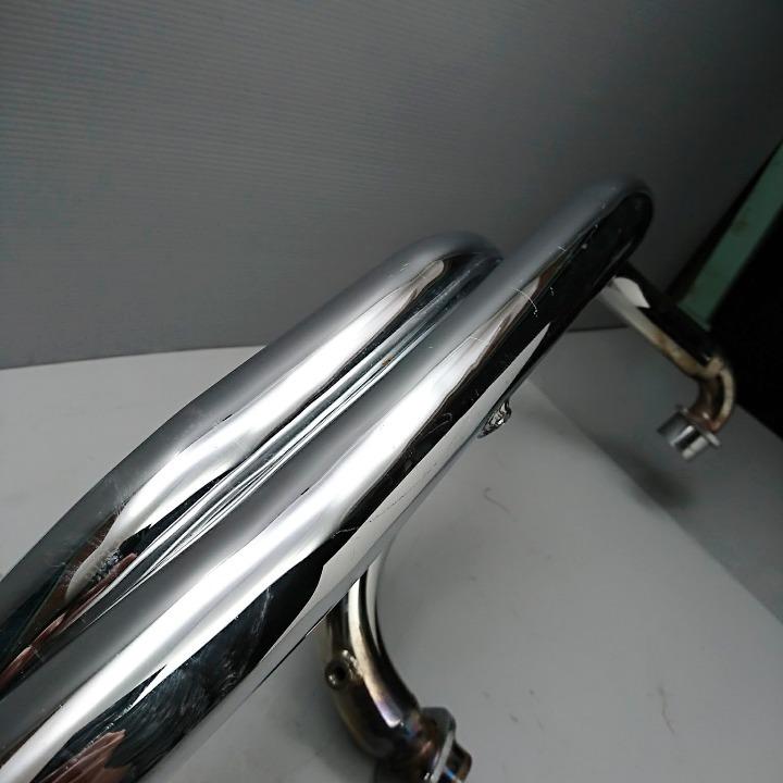 ドラッグスター400クラシック VH02J KENTEC ケンテック製 2IN1 マフラー