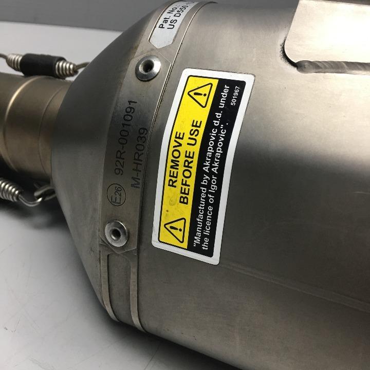 390DUKE RC390 アクラポビッチ スリップオンサイレンサー