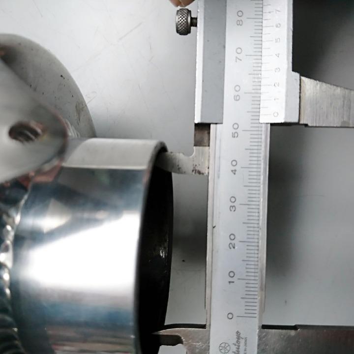 K-FACTORY Kファクトリー チタンサイレンサー 汎用 Φ54(54mm)
