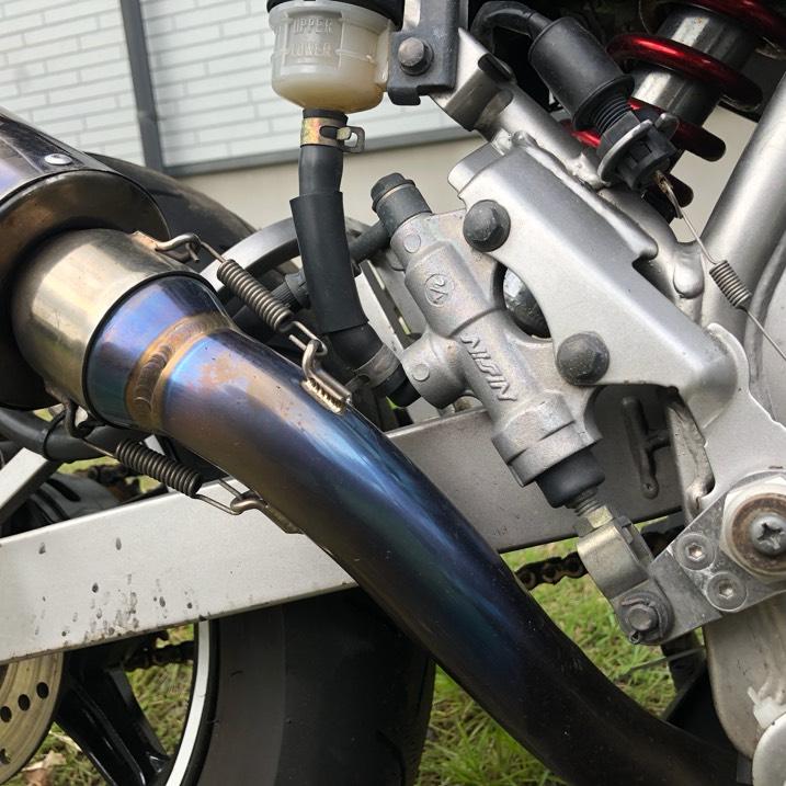 KSR110 ボアアップ125cc