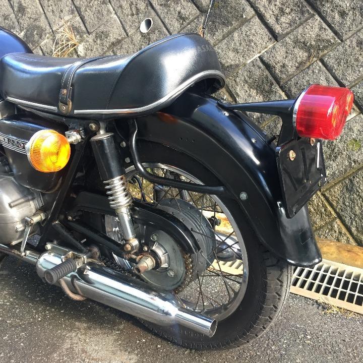 実動!W1SA★1971年 現状販売 元サイドカー付き