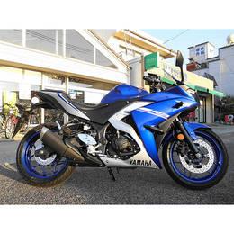 ♪徳島発♪ ヤマハ YZF-R3 ブルー RH07J 2464km