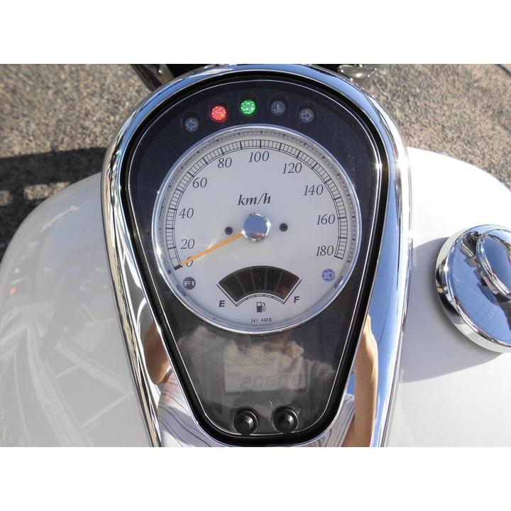 ♪徳島発♪ スズキ イントルーダークラシック400 ホワイト VK56A 20808km