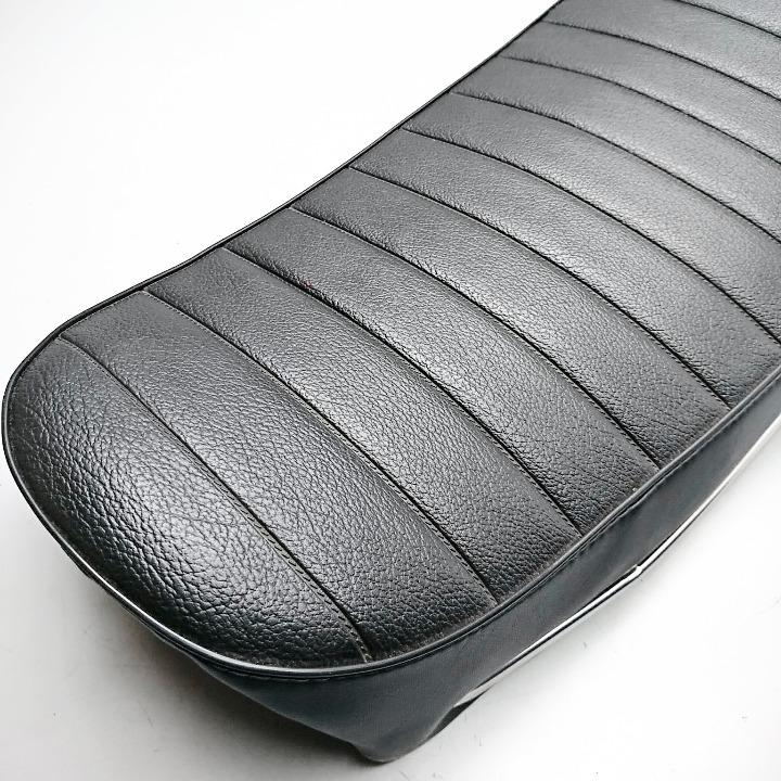 KH250 当時物 純正金属ベース 表皮張替え品