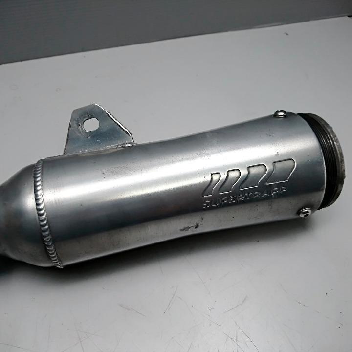 TW200  <DG07J>  スーパートラップ ダウンマフラー