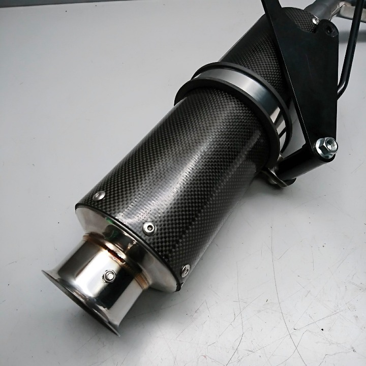 ズーマー50 AF58 Beams SS300 カーボンマフラー