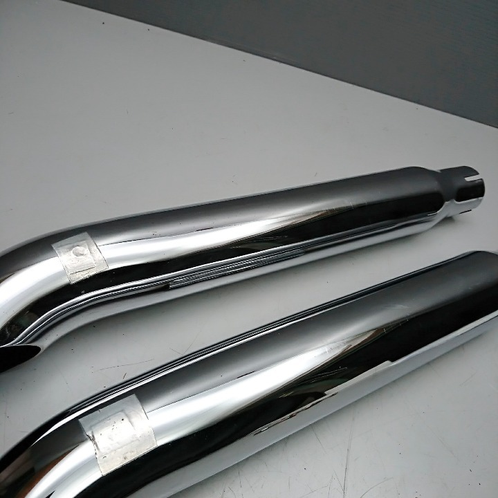 ハーレー FXDL ダイナ サイクルシャック ターンアウト スリップオン サイレンサー マフラー