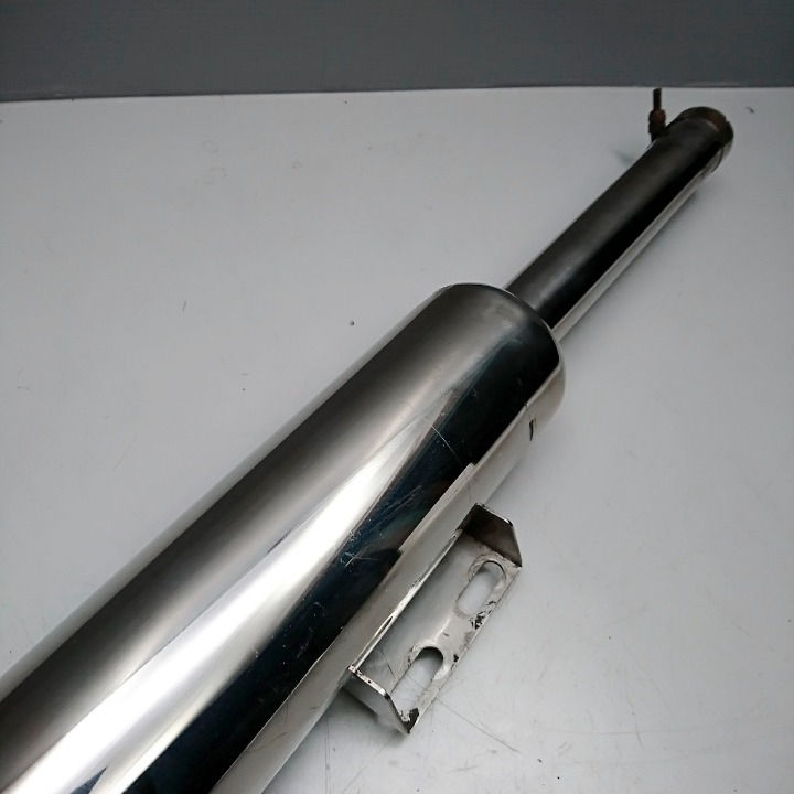 SR400 WM(ダブルエム) ステンレス キャプトンマフラー