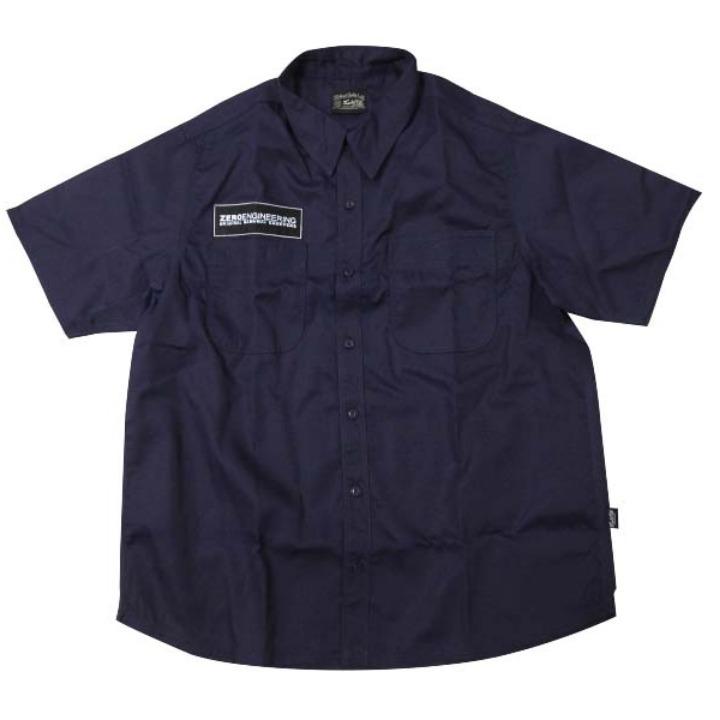サイクルカルチャー LETTER LOGOワークシャツSサイズ