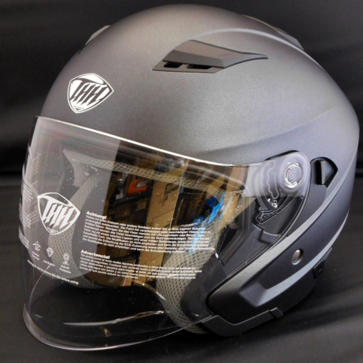 THH ジェットヘルメット T-560S マットダークグレー