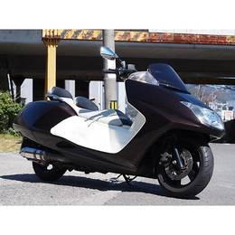 マグザム250 2010年モデル ハンドル マフラーカスタム♪