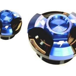 CB250R 18/GROM 13-18/CBR250R 11-16 BIKERS ジェネレーターカバーキャップ ブルー