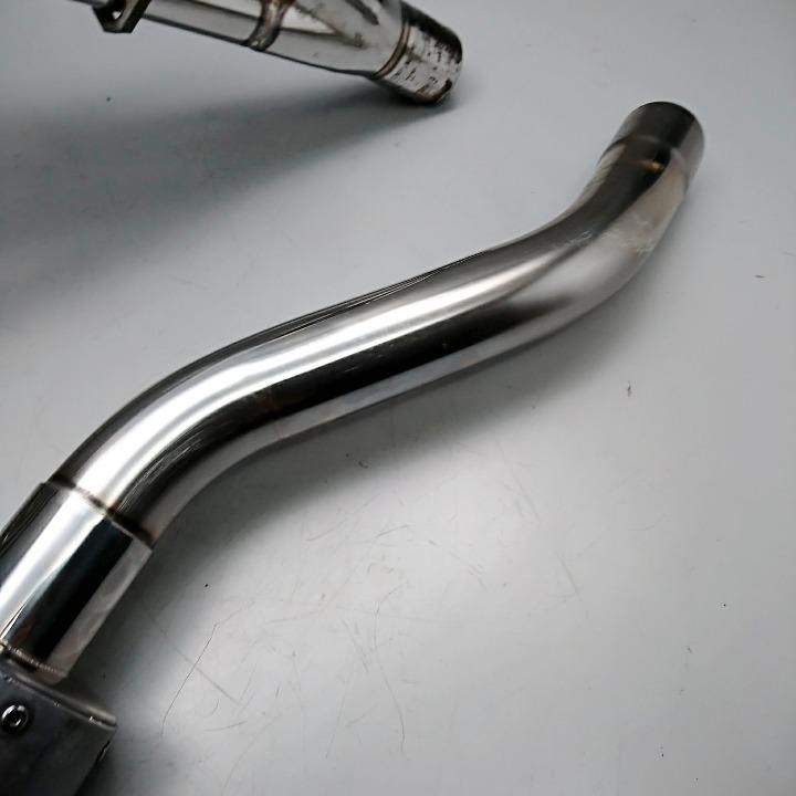 GSX250FX <ZR250C> 社外 マフラー フルエキ アルミサイレンサー バリオス 2型