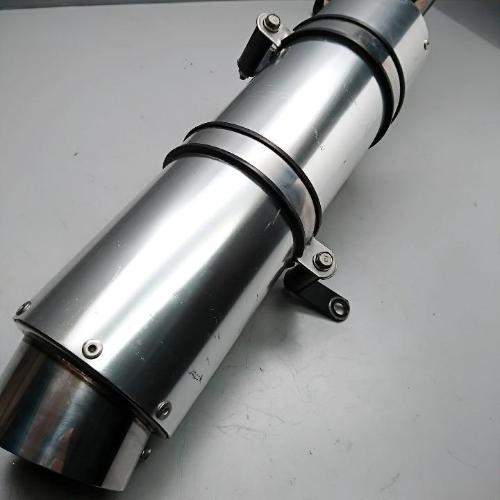 マジェスティ250 <4D9> 社外 マフラー フルエキ アルミサイレンサー
