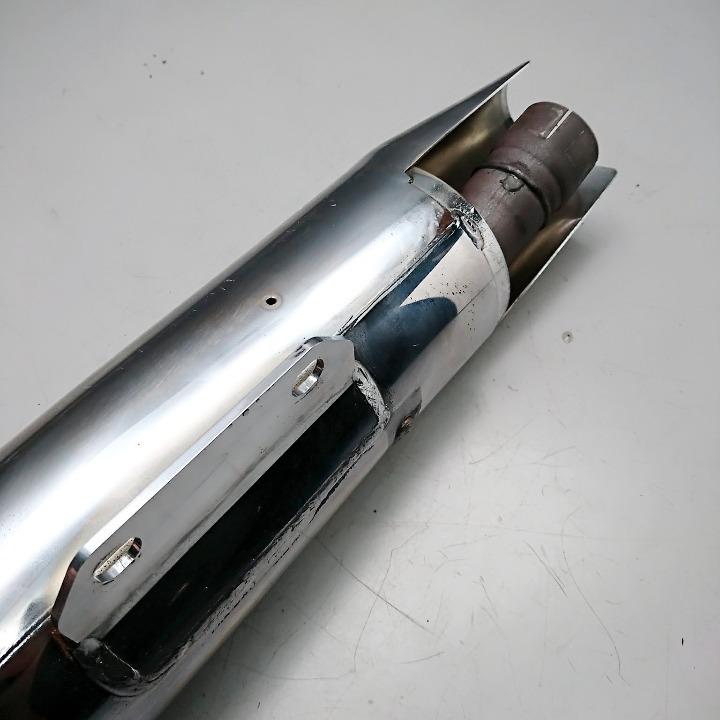 ドラッグスター250 DS250 <VG05J> デイトナ スリップオンマフラー サイレンサー
