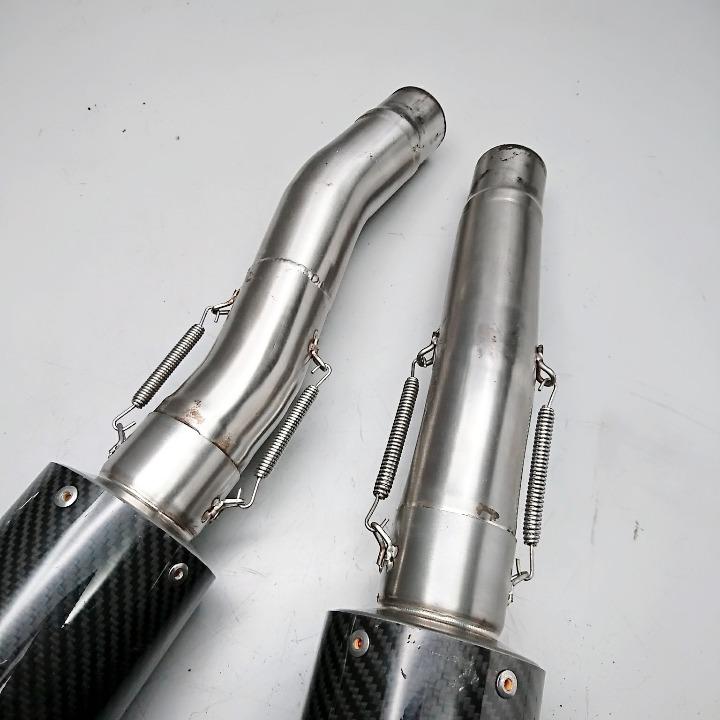 ZZ-R400 DANMOTO カーボン スリップオン サイレンサー ダンモト ZZ-R600 ZZR400 ZZR60