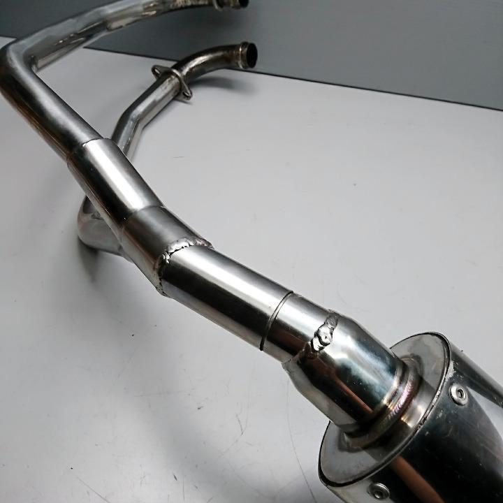 グラストラッカー <NJ47A> 社外 ステンレス マフラー フルエキ