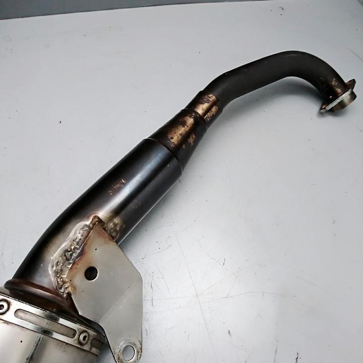 マジェスティ125 OVER製 マフラー フルエキ