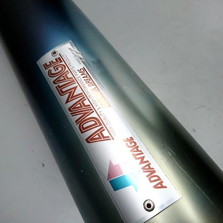 ZRX1100 ADVANTAGE アドバンテージ チタン スリップオン サイレンサー