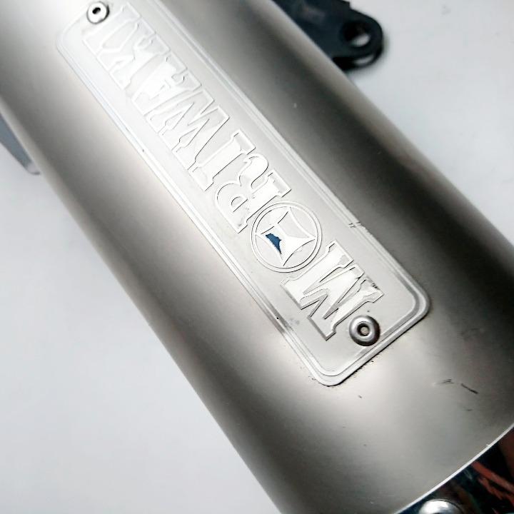 PCX モリワキ ホワイトチタンマフラー フルエキ
