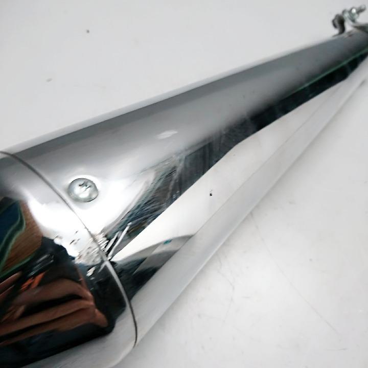 汎用 スリップオン サイレンサー ステンレス メガホン型 Φ43