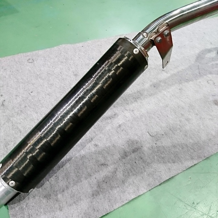 XJR1300 RP01J SP忠男 スーパーコンバット フルエキ マフラー XJR1200