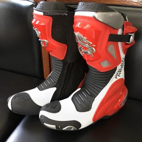 アレンネス レーシングブーツ ライディングブーツ 43サイズ