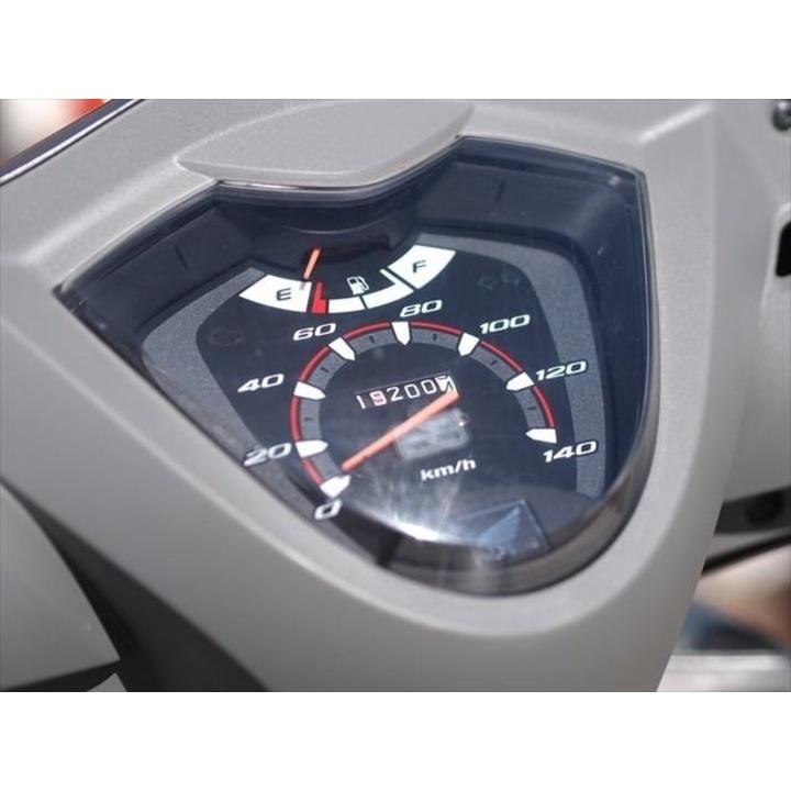 DIO 110 2011年モデル ナックルガード バックレスト付き♪