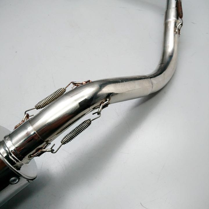 APE50 エイプ50 社外 ステンレスマフラー フルエキ