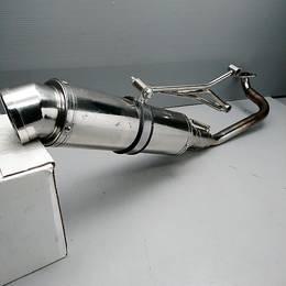 DIO110 社外 ステンレスマフラー フルエキ