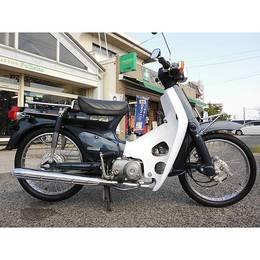 ♪徳島発♪ ホンダ スーパーカブ50カスタム ダークブルー AA01 18806km