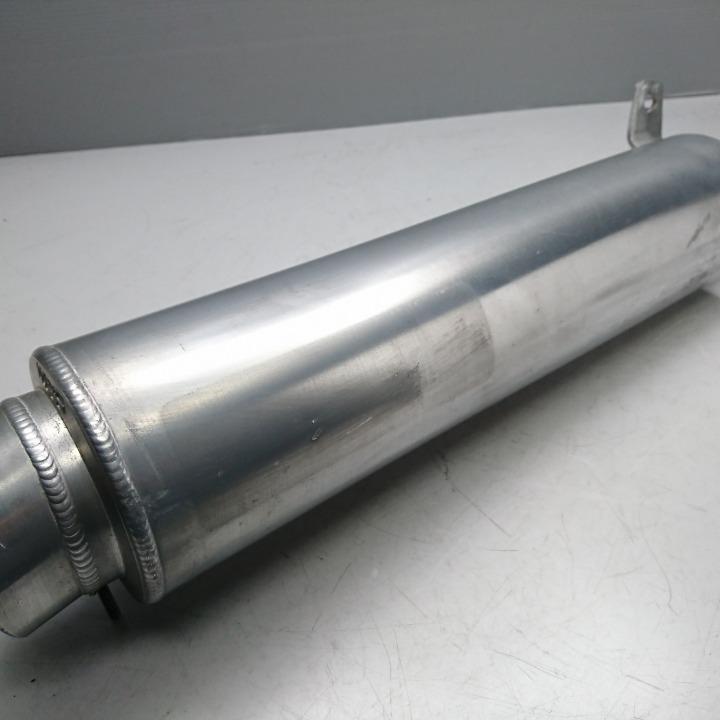 XJR400 WR'S アルミサイレンサー スリップオン 4HM エンブレム剥