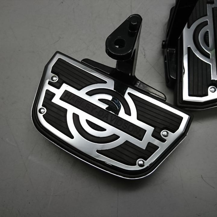 ハーレー FLHR FLHTCU ロードキ 純正オプション パッセンジャー タンデム ステップボード ツーリングモデル