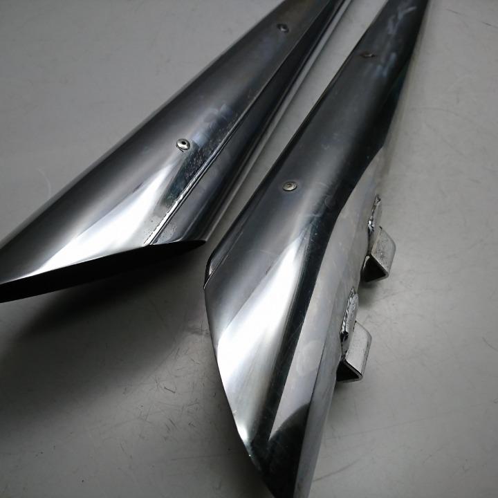 ハーレー FLHTCU スリップオン サイレンサー テーパー スラッシュカット