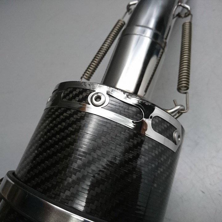 CBR250R MC41 社外 カーボン スリップオン サイレンサー