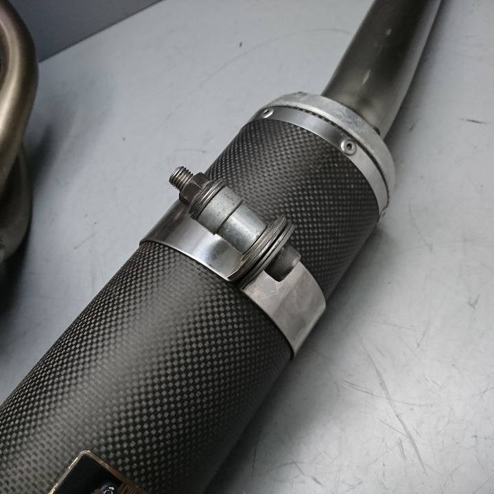 GSX400S カタナ 刀 GK77A ヨシムラ チタンサイクロン マフラー フルエキ
