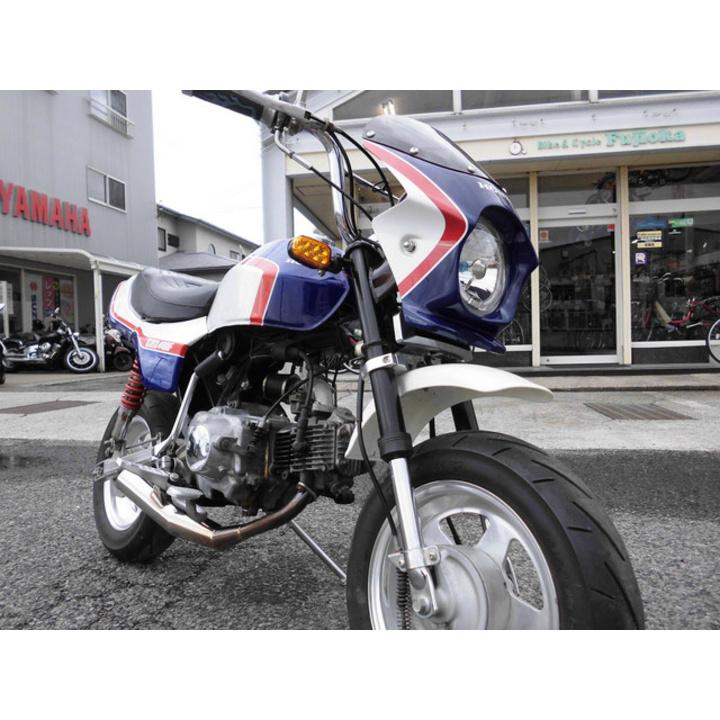 ♪徳島発♪ ホンダ モンキー ホワイト/ブルー(CBX400Fカラー) Z50J 1884km