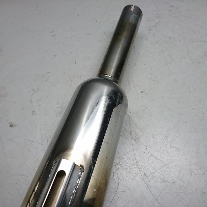SR400 1JR ブランデイウエル キャプトンマフラー スリップオン サイレンサー