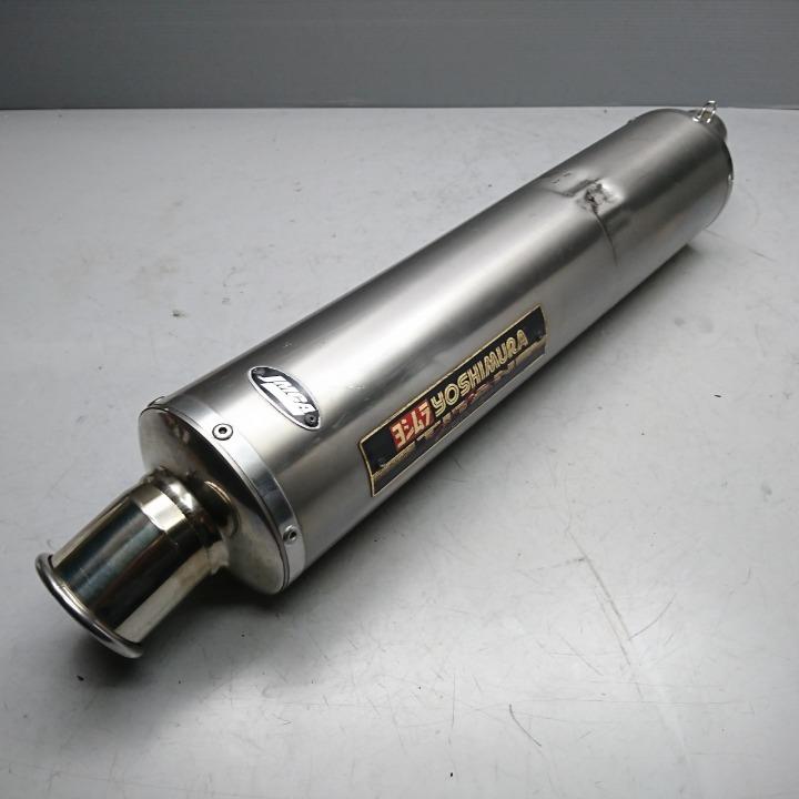 XJR1300 ヨシムラ チタンサイクロン スリップオン サイレンサー PR01J XJR1200 4KG