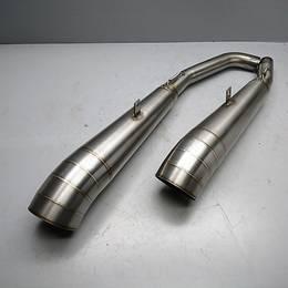 Z1000 07~09 Danmoto GPエクストリーム スリップオン サイレンサー