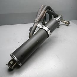 ホーネット250 HORNET250 MC31 TSRカーボンサイレンサー スリップオン 純正 エキパイ