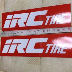 IRCタイヤ ステッカー