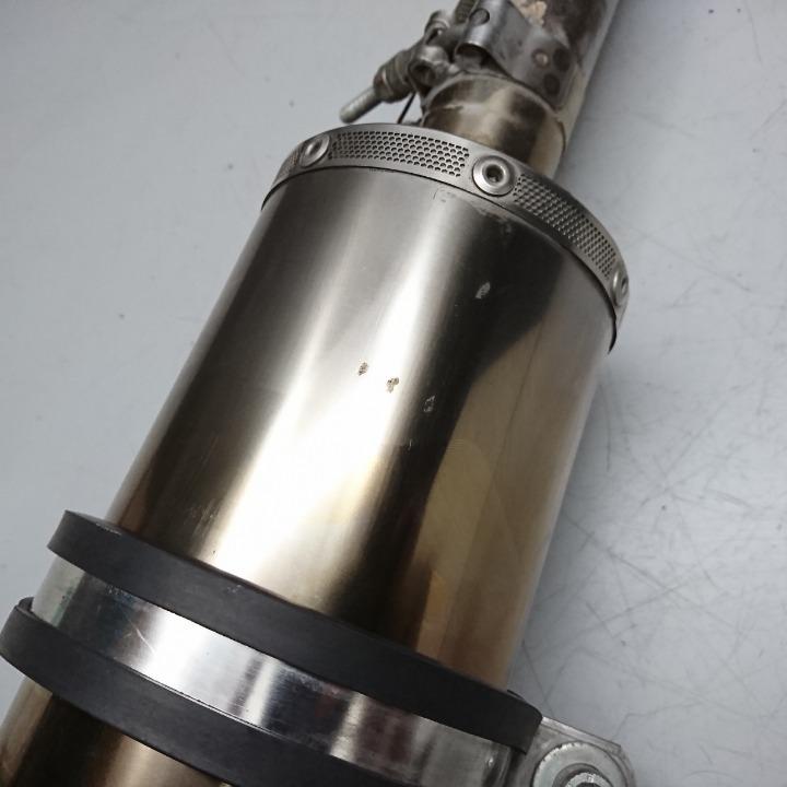 エイプ100 HC07 BEAMS SS300 マフラー フルエキ