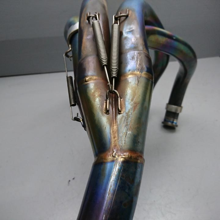 ZZ-R1100 ZXT10D K-FACTORY 4-2-1 マフラー フルエキ ケイファクトリー
