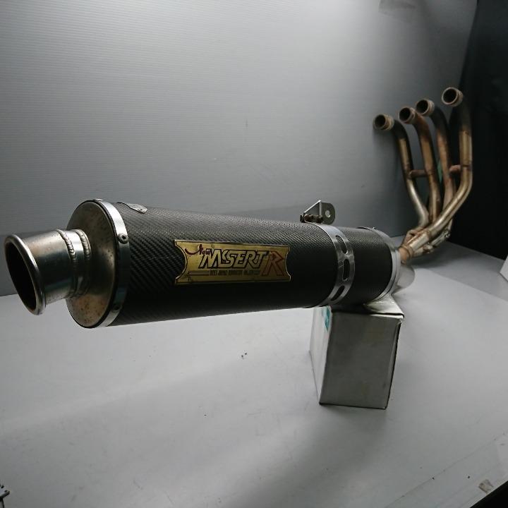 ZRX1100 ZRX1200 ZRT10C BEET NASSERT-R カーボンマフラー フルエキ