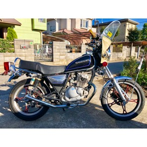 GN125 不具合なし 自賠責保険付き